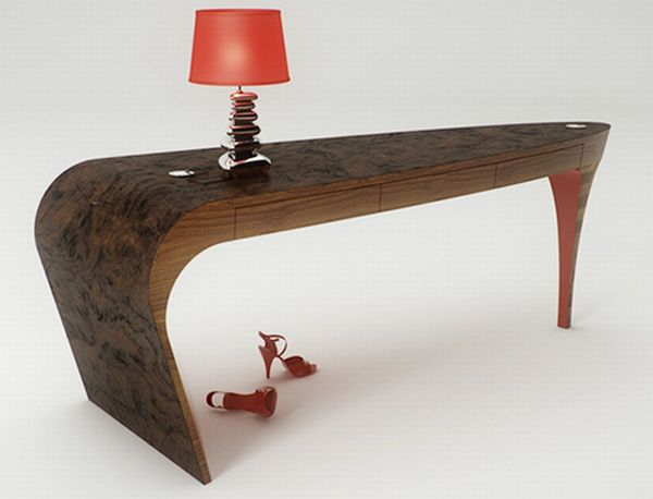 modern house console table