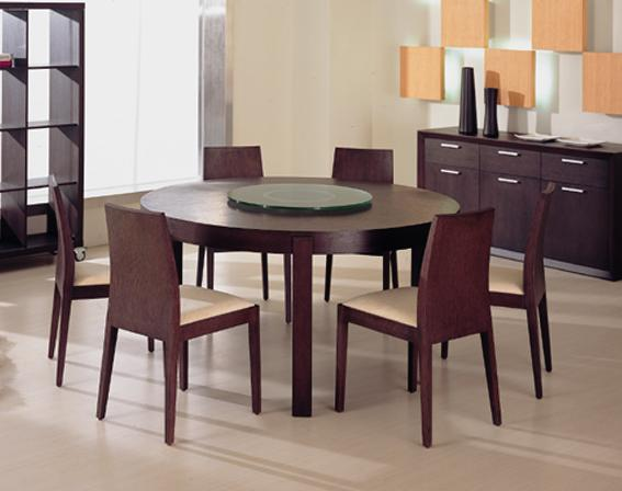 Round Dining Table – A Classy Look | My Home Design | No #1 Source ...