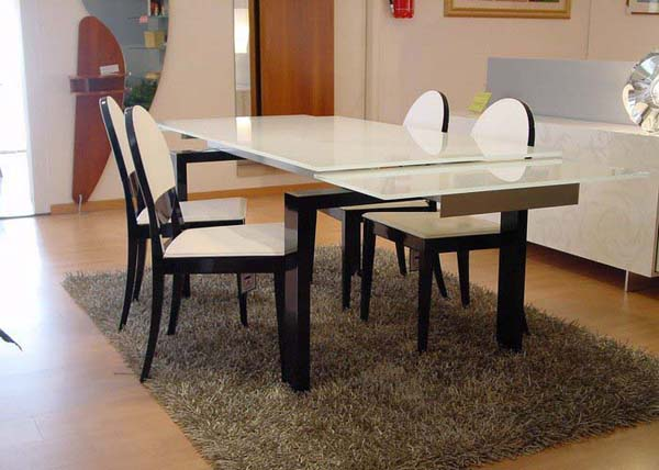 Modern dining table transform dining areas into a modern for Dining table design modern